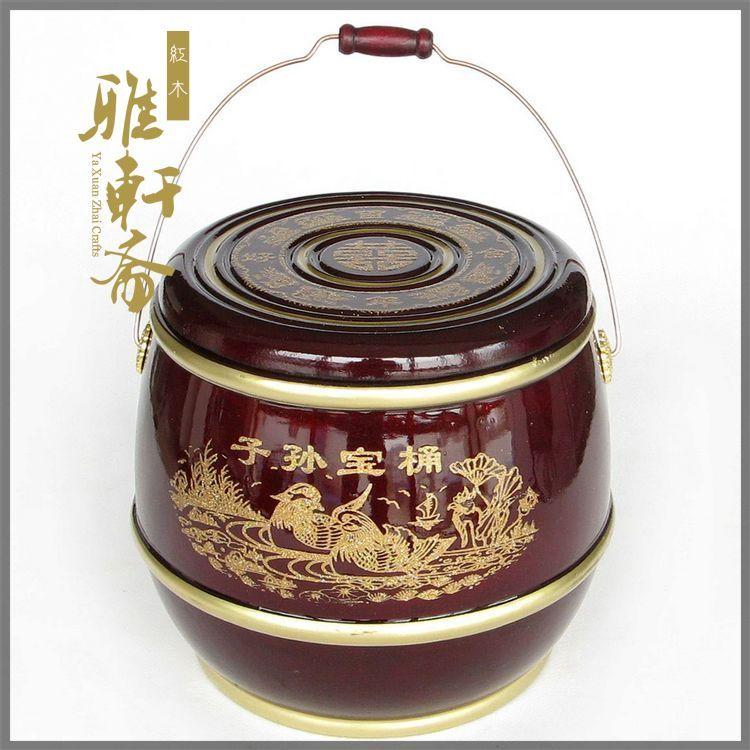 Sun Baotong wood proton wedding gifts put peanut egg hi Large Red Sun Bin Muzi ornaments(China (Mainland))