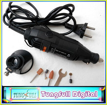 2014 New EU plug 220V 180W DREMEL Electric Tools,Mini Grinder Drill+DREMEL Drill Locator,Horn seat