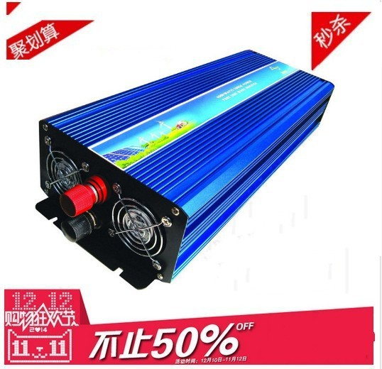 DHL Or Fedex free shipping 5000W Pure Sine Wave Inverter 10000w peak 12V to 220v For Wind and solar energy High Qualit<br><br>Aliexpress