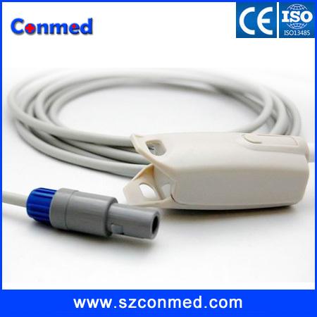HIgh quality free 5pcs/lot shipping brand new Mindray spo2 sensor/probe,adult,6pin 2guides 40degree, PM - 7000 8000 9000(China (Mainland))