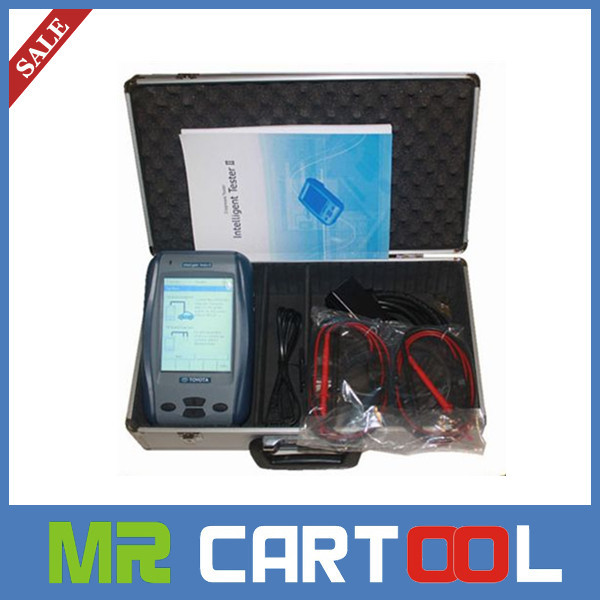 2015 Top Auto Scan tool Toyota IT2 Tester II Intelligent Tester2 Toyota For Toyota/Lexus/Suzuki it2 scan tool DHL Free Shipping(Hong Kong)