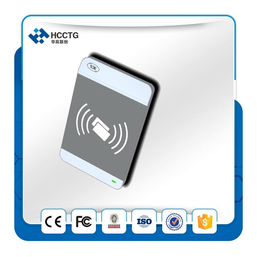 ISO 14443 USB PC/SC NFC smart card Reader Connected to pc/Mobile/Tablet --ACR1256(China (Mainland))
