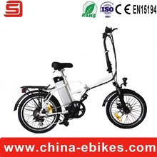 Hot Sale Electric  Folding Bicycle with 250W Brushless Motor 36V10Ah Lithium Battery(China (Mainland))