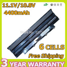 6 cells J1KND 451-11510 9TCXN 451-11510 Laptop battery for dell Inspiron 13R N3010 14R N4010 15R N5010 17R N7010 M501