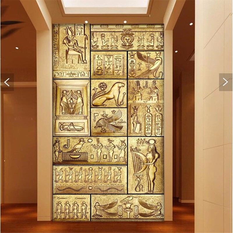 Wholesale Wall Paper 3d Art Mural Hd Beauty Of Ancient Egyptian ...