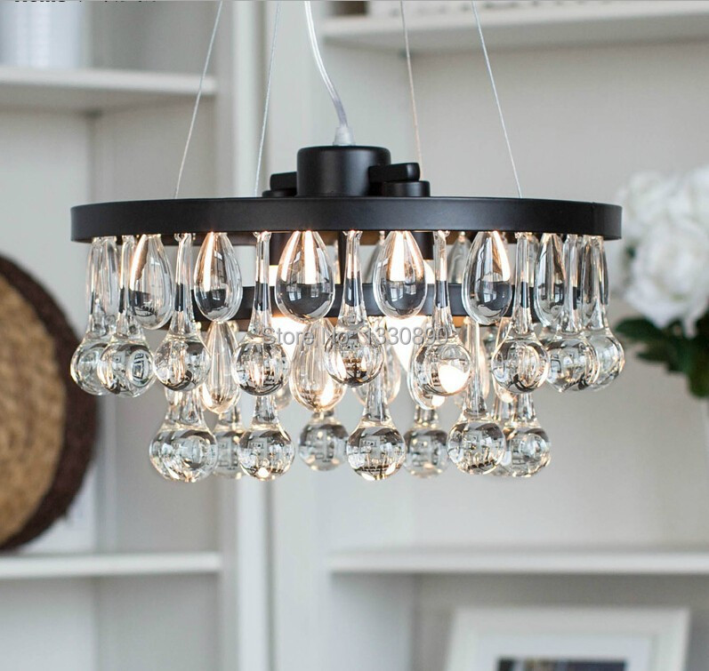 European style best selling modern crystal chandelier for Modern chandeliers ikea