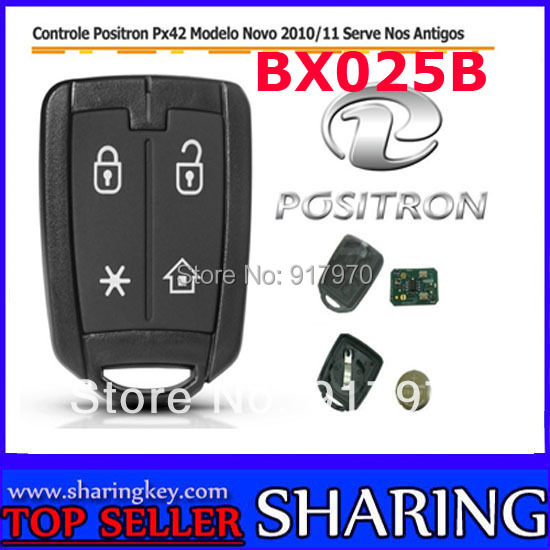(10pcs/Lot )For Brazil Positron Car alarm remote control 12F519IMS (#BX025B)<br><br>Aliexpress