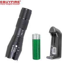 E17 LED Flashlight 18650 zoom torch waterproof flashlights XM-L T6 3800LM 5 mode led Zoomable light For 3x AAA or 3.7v Battery(China (Mainland))