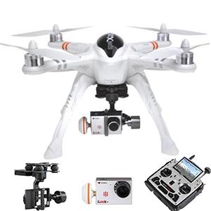 Walkera QR X350 Pro With DEVO F12E FPV GPS High Landing Skids RC Quadcopter (