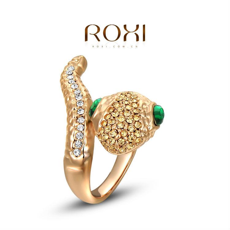 free shipping animal shaped crystal rings gold,fashion gecko crystal rings gold,2010804530(China (Mainland))
