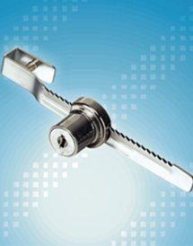 quality goods High-class 602-160 blade glass door lock/furniture lock/cabinet lock(China (Mainland))