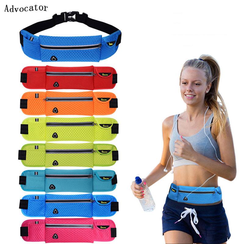 Men Women Running Waist Pack Breathable Nylon Fanny Pack Outdoor Sport Waist Bag Belt Bags Phone Pouch Multifunction Sling Bag(China (Mainland))