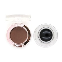 Promotion Price 3 In 1 High Quality Cosmetic Eye Makeup Eyebrow Eye Brow Powder Shadow Palette