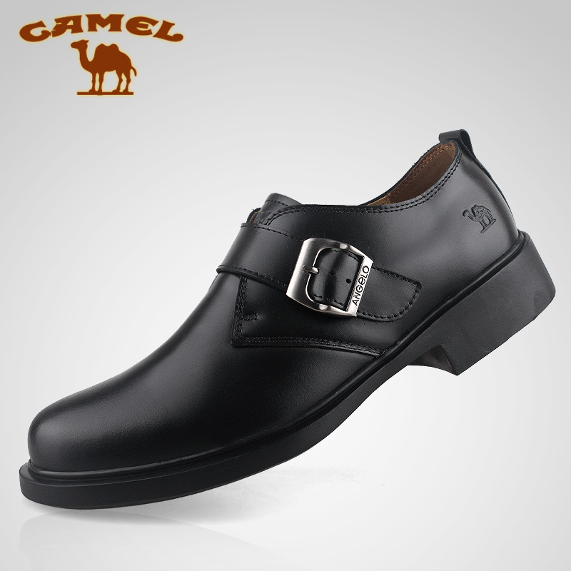 2014 new brand Camel men genuine leather shoes ancient & formal business shoes EUR size 38-44(China (Mainland))