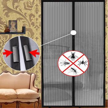 Горячий новый горячий продавать летом 1 шт. сетки сетки магниты экрана сетки насекомые муха ошибках москитная дверь занавес чистая сетки сетки магниты экрана