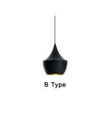 New design England Tom Dixon beat musical instrument Hanging pendant light Restaurant  bar and living room bedroom lighting(China (Mainland))