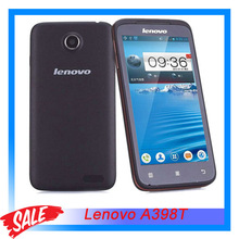 Original Lenovo A398T SC8825 Dual Core 1.0GHz 4.5 inch IPS Android 4.0 SmartPhone 5MP RAM 512MB+ROM 4GB Dual SIM GSM Network