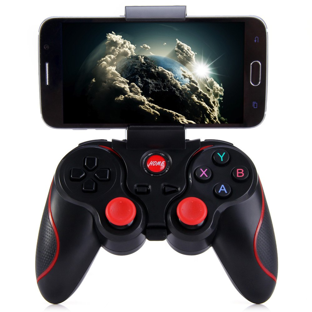 Smart Phone Game Controller Wireless Joystick T3+ Mini Bluetooth 3.0 Android Gamepad Gaming Remote Control for phone PC TV Box(China (Mainland))