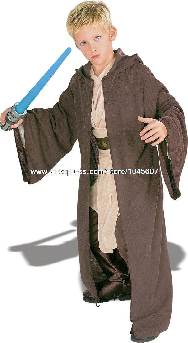 Child Deluxe Jedi Knight Costume Jedi Robe Child Costume