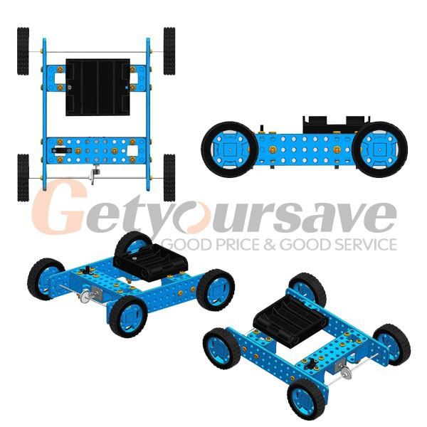 4PCS Arduino Smart Car Robot Plastic Tire Wheel with DC 3-6V Gear Motor(China (Mainland))
