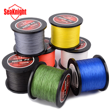 1000M SeaKnight Brand Tri-Poseidon Series Quality Japan Wire PE Braided Fishing Line Braided Line 8 10 15 20 30 40 50 60LB