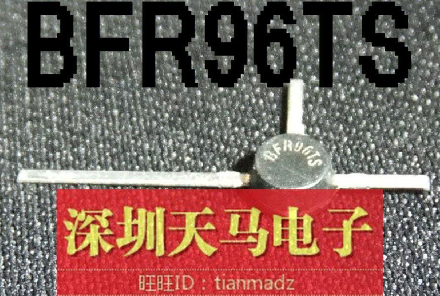 Free shipping 40pcs/lot Plane crystal radio frequency transistor tube BFR96TS new original(China (Mainland))
