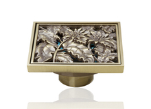 e-pak Best Price Beautiful L5402 Antique Brass Gravity Flushing Construction & Real Estate Bathroom Floor Drain shower