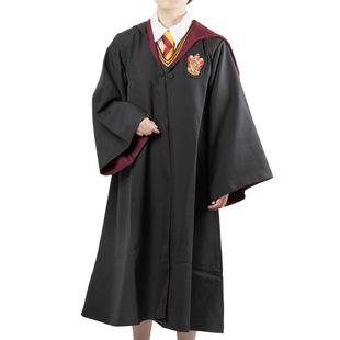 Harry Potter Robe gryffondor avec cravate Cosplay Costume adultes Harry Potter Robe cape 4 styles Halloween cadeau 11 B114(China (Mainland))