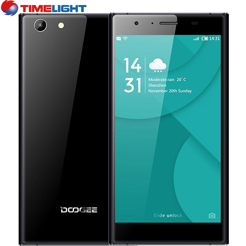 Original Doogee Y300 4G LTE Mobile Phone 5.0 inch HD Android 6.0 MT6735 Quad Core 2G RAM 32G ROM 2200mAh 8.0MP Camer(China (Mainland))
