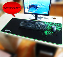 900*400*3MM Large Mouse Pad Mouse Mat Speed/Control Version Overlock Game Keyboard Pad for Gamer(China (Mainland))