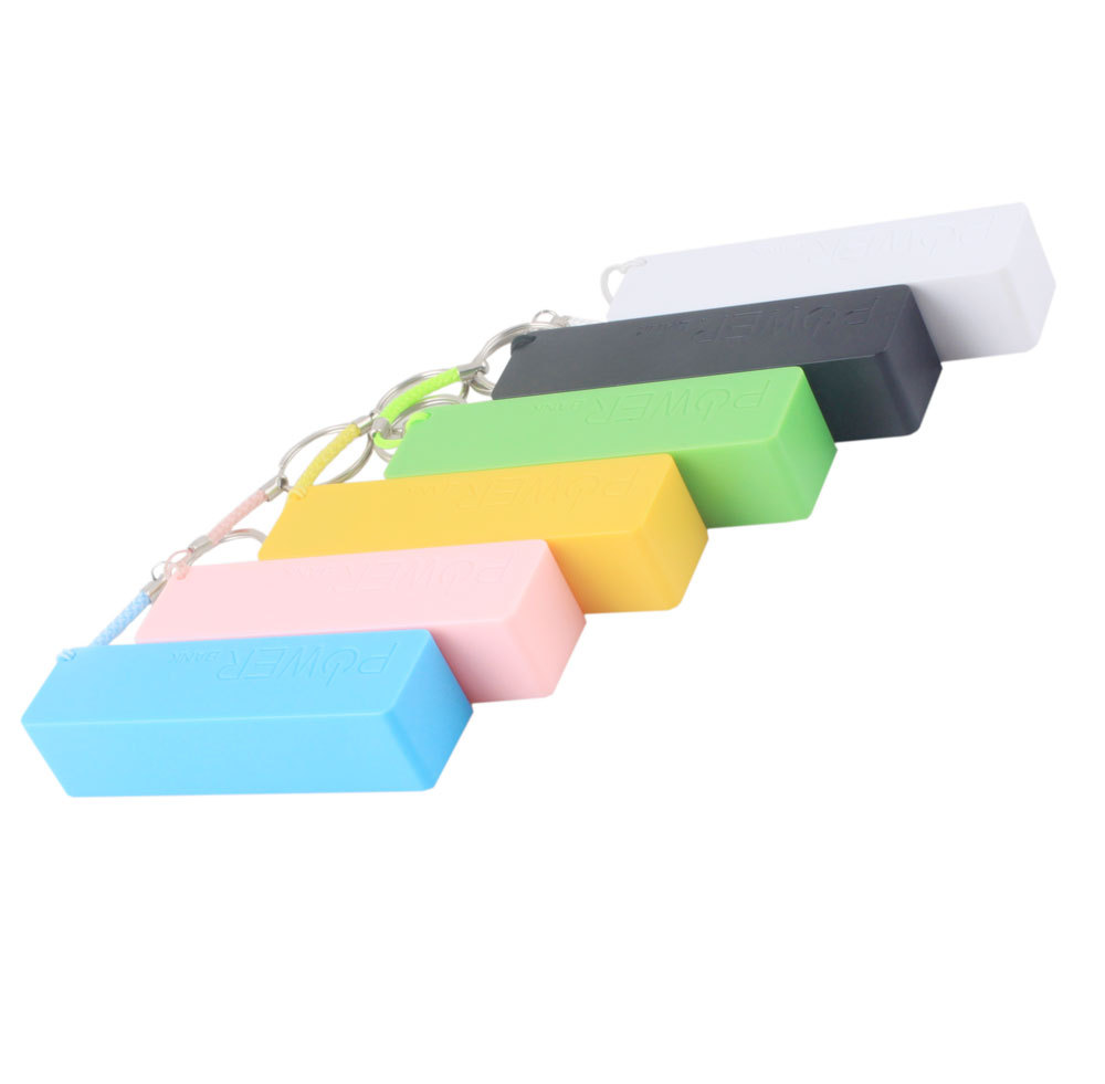 New Portable Mobile Power Bank USB 18650 Battery Charger Key Chain for iPhone MP3 (No Battery) #46500(China (Mainland))
