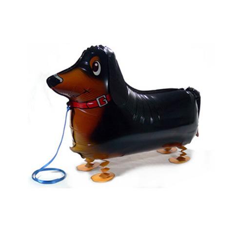 Retail Dachshund Sausage dog walking balloon lovely dog aniaml Party balloons Free shipping<br><br>Aliexpress