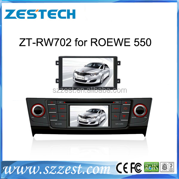 ZESTECH android media player car audio for Roewe 550 car audio vedio entertainment navigation(China (Mainland))