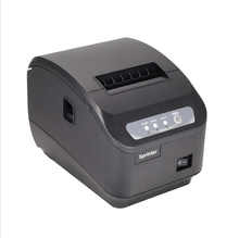 Free by DHL 8pc High quality original Auto-cutter 80mm Thermal Receipt Printer Kitchen/Restaurant printer POS printer XP-Q200II(China (Mainland))