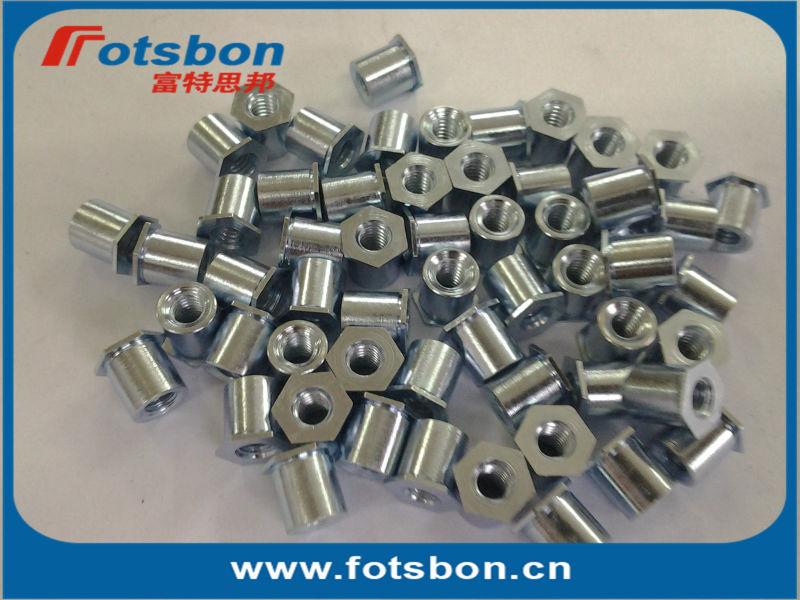 TSOA-256-187 Threaded standoffs for sheets thin as 0.25/ 0.63mm,PEM standard,AL6061,<br><br>Aliexpress