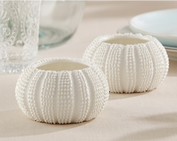 "50pcs/lot Beach Wedding Favors gift ""Sea Tidings"" Sea Urchin Tealight Holders FREE SHIPPING (comes without the candle)(China (Mainland))"