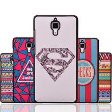 Cartoon Color Ultra Thin Hard Soft Back Cases Covers For Xiaomi MIUI MI4 For Millet M4 Original Cell Phone Case+Drop/Free Ship