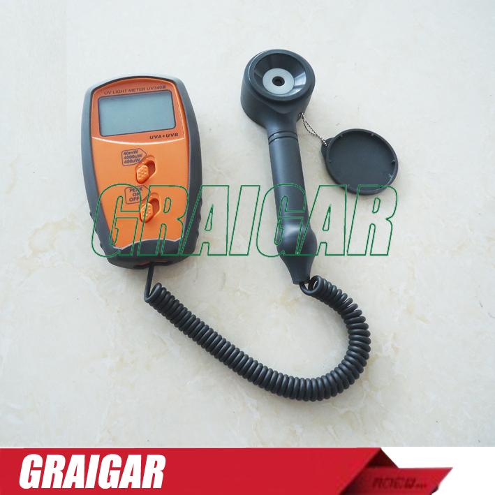 100% Original authentic product  UV340B Free shipping 280~380nm UV Light Meter UVA UVB Detector Tester<br><br>Aliexpress
