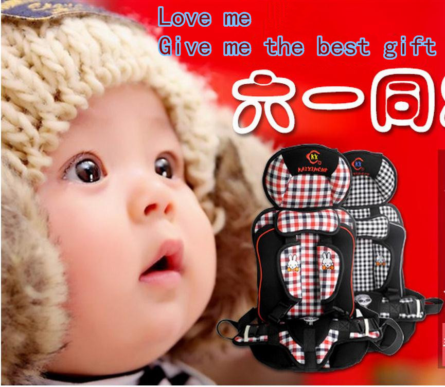 Baby Car Seat, Child Car Safety Seat,for Baby of 9-28KG,children's car seat cushion Black and red Color,chlid car seat(China (Mainland))