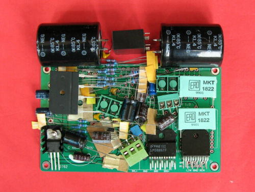 Music Hall LM3886 amplifier board DIY kit for HIFI (With speaker protection) Free Shipping(China (Mainland))
