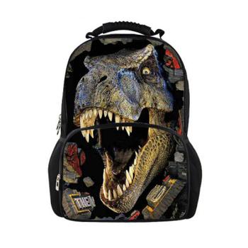 Мода 3D детская школа сумка животное лошадь динозавров печать мужская путешествия ...