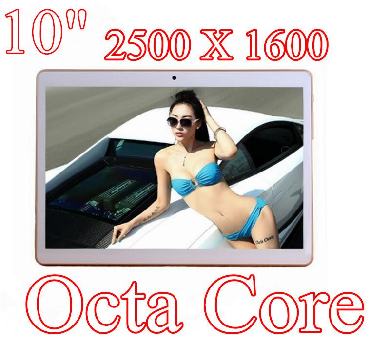 Гаджет  10 inch 8 core Octa Cores 2560X1600 IPS DDR 2GB ram 32GB 8.0MP 3G Dual sim card Wcdma+GSM Tablet PC Tablets PCS Android4.4 7 9 None Компьютер & сеть
