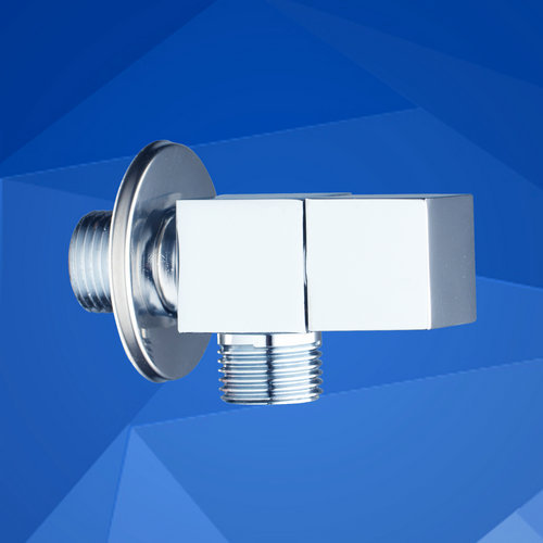 Shivers Triangle Valve Bathroom Accessory New Polished Chrome Wall Mounted 1/2*1/2 Square 6201 Bathtub Basin Sink  Angle Valves<br><br>Aliexpress