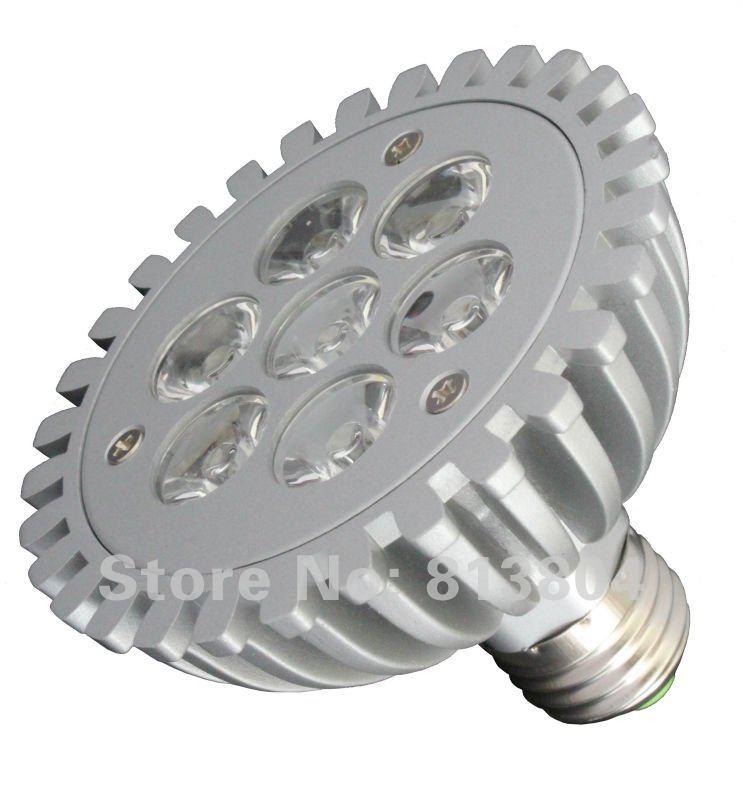 PAR30 7W E27 High Power LED spotlight led ceiling light down lamp bulb, AV85-265V 3 Years Warranty(China (Mainland))