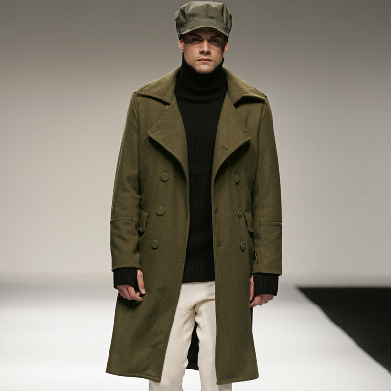 Wool Military Coat Photo Album - Reikian