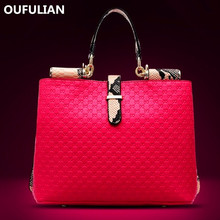2014 Famous Luxury Brand Fashion Women Genuine Leather Bags, Women Alligator Pattern Handbag Messenger Bags Totes Shoulder Bag