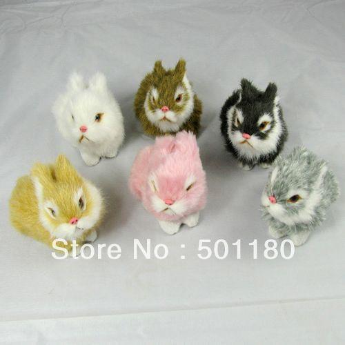 free shipping rabbit ornament toys of rabbit rabbit easter(China (Mainland))