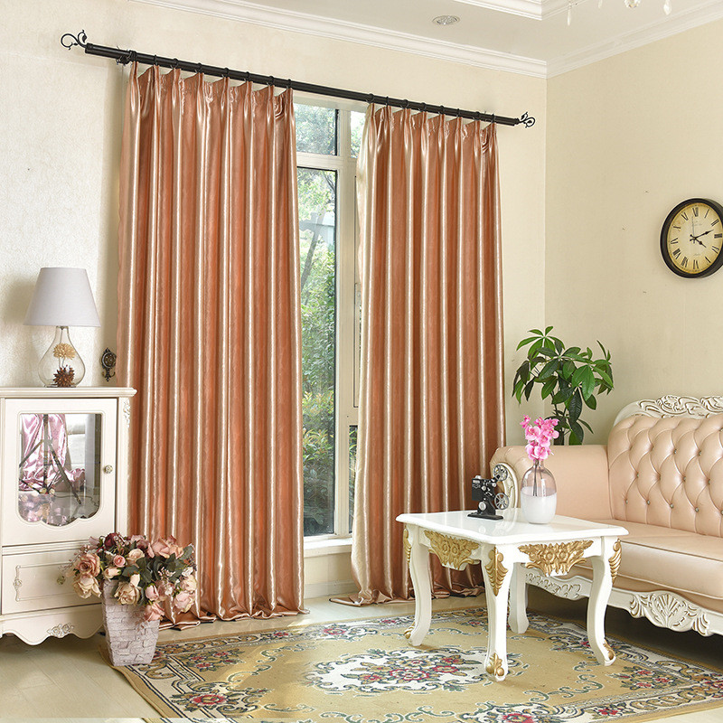 Blackout Curtains For Living Room Hotel European Simple: Online Buy Wholesale Damask Curtain From China Damask