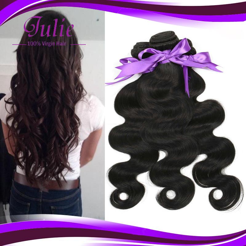 Cheap brazilian body wavy hair 100g Ali moda brazilian virgin hair Guangzhou grace hair products company 4 pcs/lot human hair(China (Mainland))