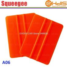 A06 cheapest and small abs plastic vinyl car wrap squeegee durable plastic carbon fiber sticker squeeegee tool for car wrap(China (Mainland))